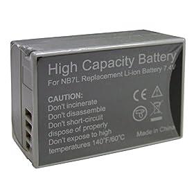 Accumulatore Li-Ion Canon PowerShot SX30 IS G12 G11 G10