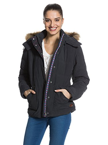 roxy-under-winter-blouson-manches-longues-femme-gris-phantom-fr-40-taille-fabricant-l