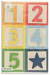 Martha Stewart Crafts Bright Block Number Stickers By The Yard