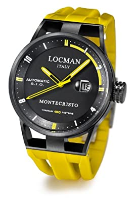 Locman Montecristo PVD Automatic from watchmaker Locman Italy