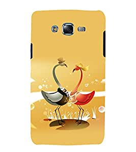 printtech Nature Crane Bird Abstract Back Case Cover for Samsung Galaxy A3 / Samsung Galaxy A3 A300F