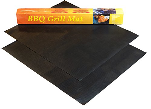Gifts For Guys Bbq Grill Mats Set Of 2 Non Stick Essential