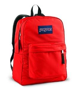 Jansport Superbreak Backpacks - High Risk Red