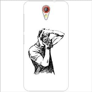Printland Lazer Print Click Phone Cover For HTC Desire 620G