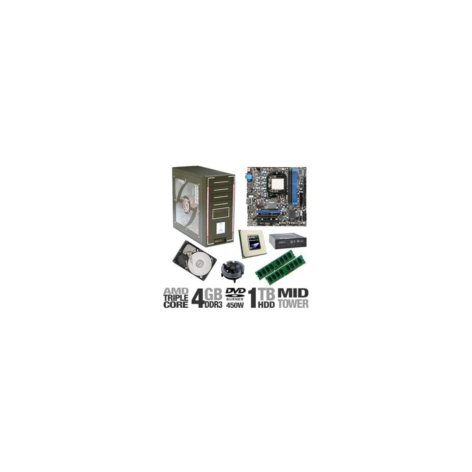 MSI 785GM E51 PowerUp Barebones Kit