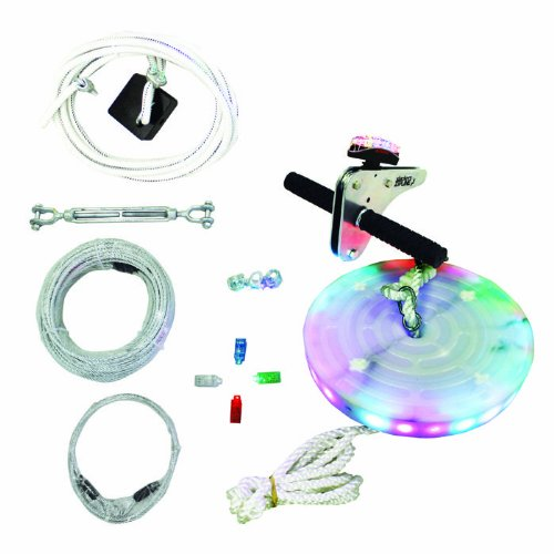Slackers Night Riderz Zipline Kit With Brake - 100' front-36146