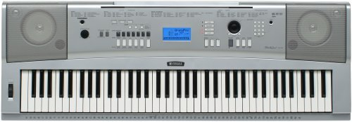 Yamaha DGX-230 Keyboard Bundle, 76 Keys – Includes Professional Headphones, Keyboard Stand, and Power Supply