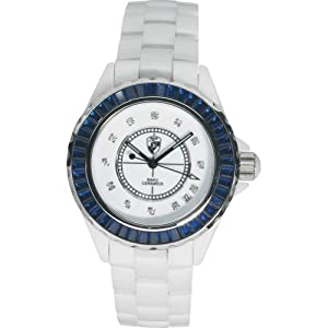 Raku Watches by Heys USA Men's Sophisticated Summer Whites & Blue (White)