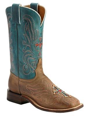 TL 5102 Tony Lama Black Cherry Lizard Skin Boots Cowtown