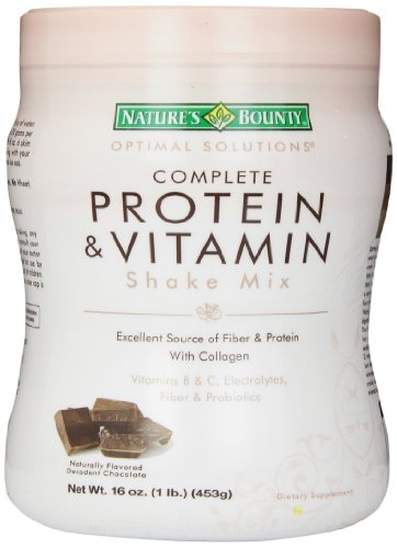 Nature's Bounty自然之宝 巧克力口味 大豆蛋白+乳清蛋白粉 453g图片