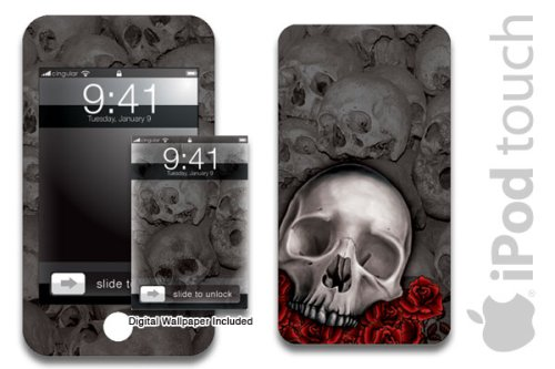 New Apple iPod Touch Protective Skin, fits all 8,16,32gb models
