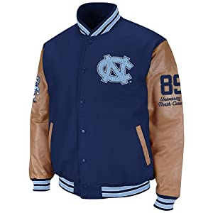 North Carolina Tar Heels Mens Varsity Letterman Jacket by Colosseum