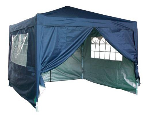 Quictent New 10x10' Navy Blue Ez Pop up Gazebo