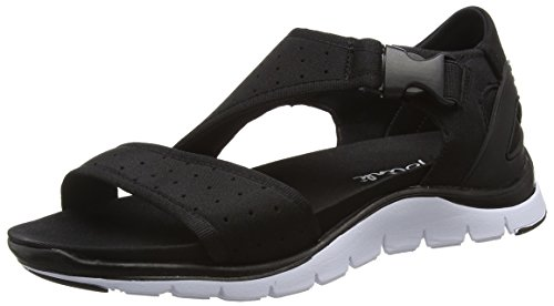 BlinkBcoin-sandalL - Sandali a Punta Aperta Donna , Nero (Nero (01 black)), 38