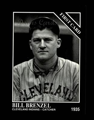 1994 Conlon # 1302 First Card Bill Brenzel Cleveland Indians (Baseball Card) Dean's Cards 8 - NM/MT