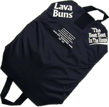 Lava Buns - Warming/Cooling Seat Cushion - Black (Microwave Heated Seat compare prices)