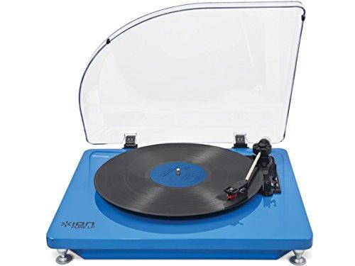 ION AUDIO iT51B Pure LP Plattenspieler (USB) blau