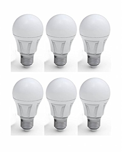 6Pack zzia LED E27Classic A60Frosted-11W 980lumen 3000K
