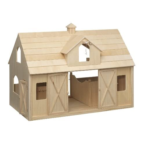 Breyer Wood Horse Barn Large Traditional Toys amp Games