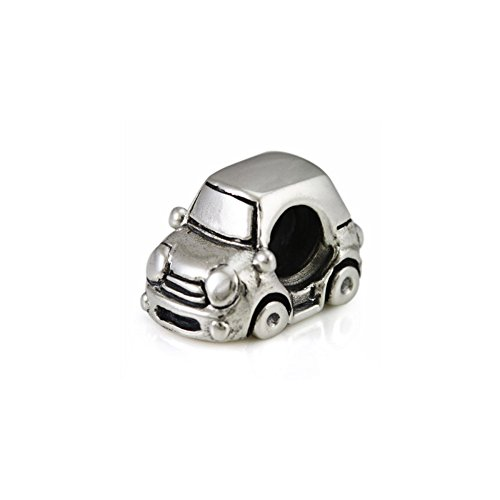 Ohm Beads Sterling Silver Little Car European Bead Charm