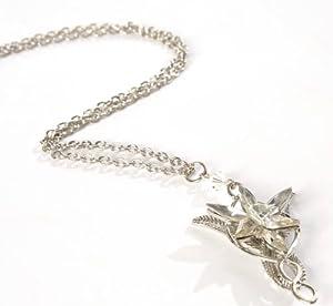 Platinum Plated Arwen Evenstar Necklace Style