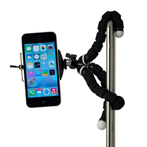 RIF6 Mini Tripod Universal Octopus Style Mount for Smartphone, Camera, Webcam, Cell Phone