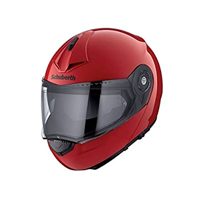 SCHUBERTH C3 PRO  - Casque Modulable Rouge