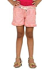 Fiore Girls Cotton Capri (Pinkwashed10_11 _Pink _10-11 Years)