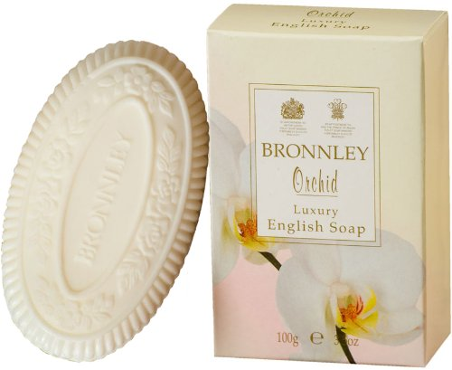 Bronnley Orchid 100g/3.5oz Luxury English Soap