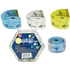 36 Pcs. Double Sided Tailor's Measuring Tape Mt9r
