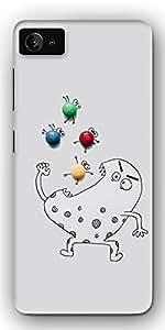 DigiPrints High Quality Printed Designer Soft Silicon Case Cover For Lenovo Z2 Plus