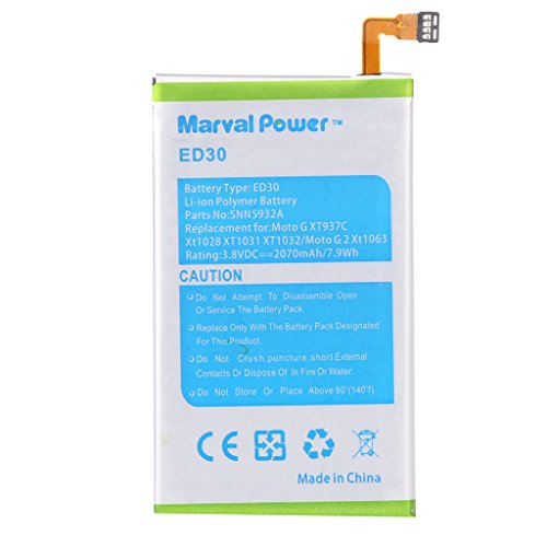 Marval-Power-ED30-2010mAh-Battery-(For-Motorola-Moto-G)