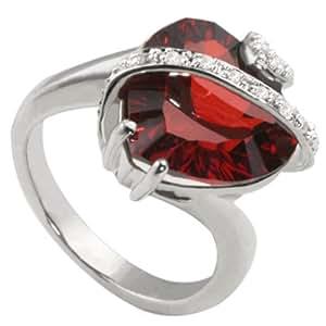 Goldmaid Damen-Ring Sterling-Silber 925 Zirkonia 50 (15.9) Fa R2606S50