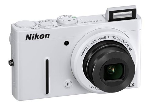 Nikon-Coolpix-P310-161MP-Point-and-Shoot-Digital-Camera-White-with-4GB-Card-Camera-Pouch