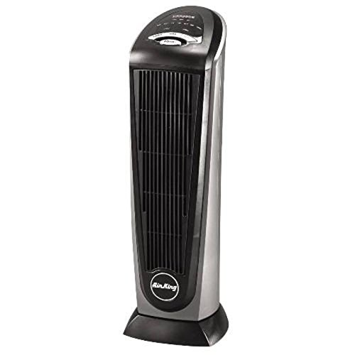 Air King 8566 Oscillating Ceramic Heater With Programmable Thermostat, 8-Hour Timer And Remote Control front-476497