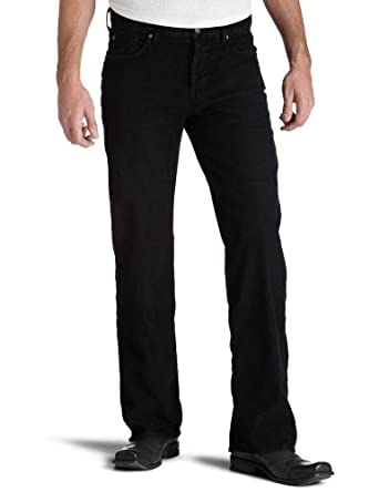 7 For All Mankind Men's Relaxed Fit Jean, Black, 28