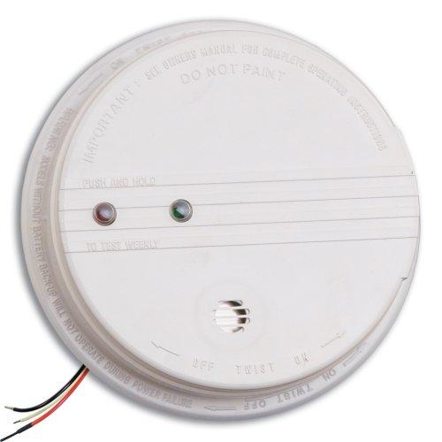 smoke detector false alarm kidde pe120 hardwire with battery backup photoelectric sensor smoke. Black Bedroom Furniture Sets. Home Design Ideas