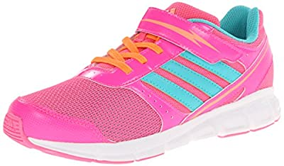 adidas Performance Hyperfast EL K Running Shoe (Little Kid/Big Kid) by adidas Kids Performance Footwear
