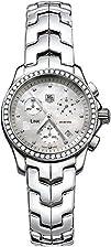 TAG Heuer Womens CJF1314.BA0580 Diamond Chronograph Watch