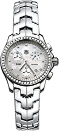 TAG Heuer Women s CJF1314 BA0580 Diamond Chronograph Watch