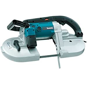 Makita 2107FK 6.5 Amp 4-3/4-Inch by 4-3/4-Inch Capacity Variable Speed Portable Band Saw with Case