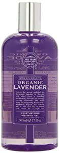 Greenscape Organic LAVENDER Natural Moisturising Shower Gel 500ml