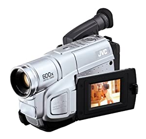 """JVC GRSXM250 S-VHS-C Camcorder with 2.5"""" LCD, Auto-Light, and Image Stabilization"""