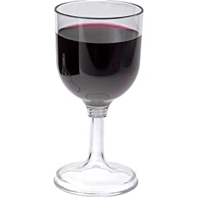Lexan Wine Glass