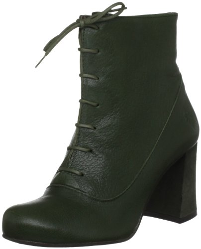 Fly London Women's Cofi Green Lace Ups Boots P142251003 5 UK