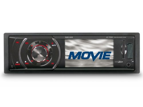 Caliber RMD602 Autoradio CD/DVD Noir