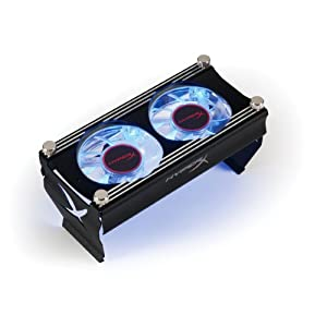 【クリックでお店のこの商品のページへ】Kingston HyperX Cooling Fan Accessory - Black KHX-FAN-B