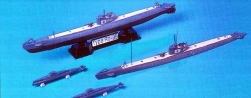 Skywave 1/700 IJN Submarines Type Ro35 and Target A Type D 2 Model Kit