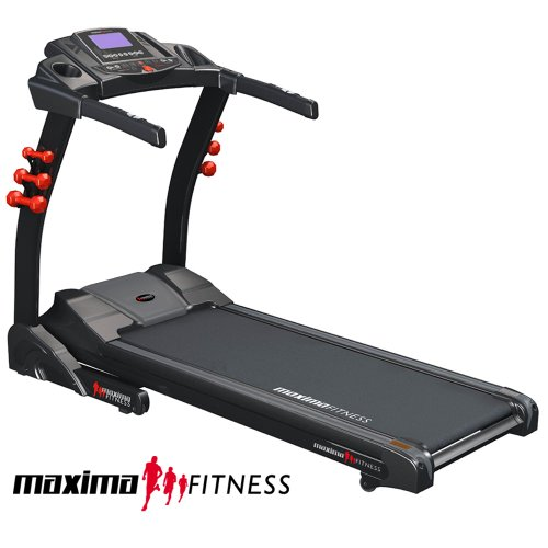 Maxima Fitness MF-2000-SpeedsterXT Treadmill. 22kph, 20-level Auto-Incline, Programmable, Folding Treadmill with HRC + Wireless Chest Strap . Ultimate performance from Maxima Fitness.