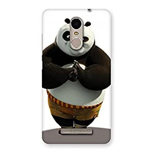 Voila Punched Panda Back Case Cover for Xiaomi Redmi Note 3